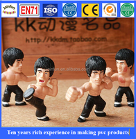 Custom 3d pvc movable action figure, Wholesale customized vinyl figure, bendable action figure toy for sale