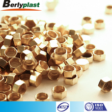 Free sample Customized cap type brass copper pipe plug
