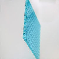 high quality4mm thickness polycarbonate hollow roof sheet/canopy/awning/carport