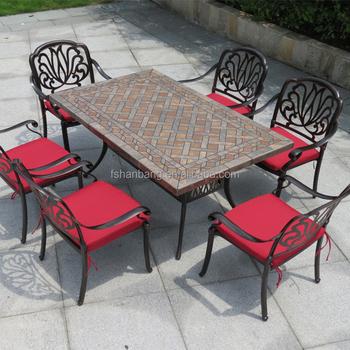Outdoor Garden Patio Metal Marble Stone Provence Furniture - Buy Provence  Furniture,Outdoor Metal Furniture,Furniture Outdoor Product on Alibaba.com