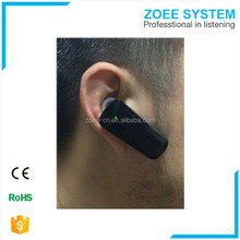 Bluetooth ear-hook sound system mini audio amplifier with internal battery