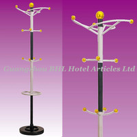 Hotel Supplies Guest Room Decorative Metal Trees Metal Clothes Rack Coat Hanger J33