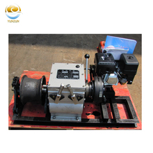 Gasoline Capstan Winch 1t 3t 5t 8t for Cable Pulling Equipment