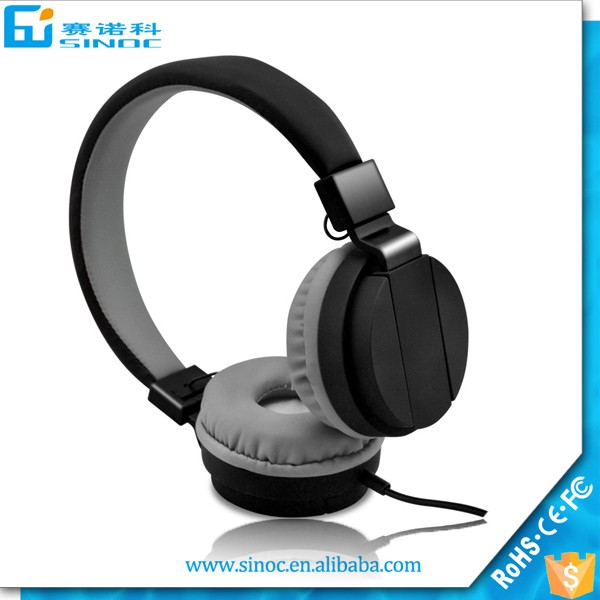Wholeasle Super bass headphone mp3 for used mobile phones wired headset earphone