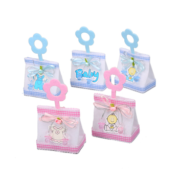 Good quality cute flower handle decoration mini baby birthday party gift candy packing bag