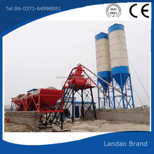 Hot sale Simple HZS25 skip hopper concretet batching plant