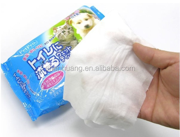 Pet cleaning wet wipes for dog/cat bathing wipes OEM factory