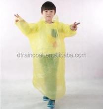 Top quality customized Kids raincoat