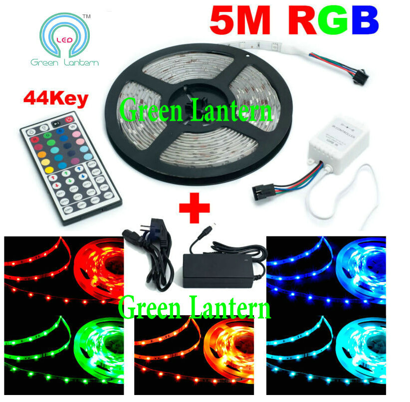 12v led strips ip65 waterproof smd 5050 flexible led strips ce rohs approval 5m rgb 5050 led strip kit with remote controller