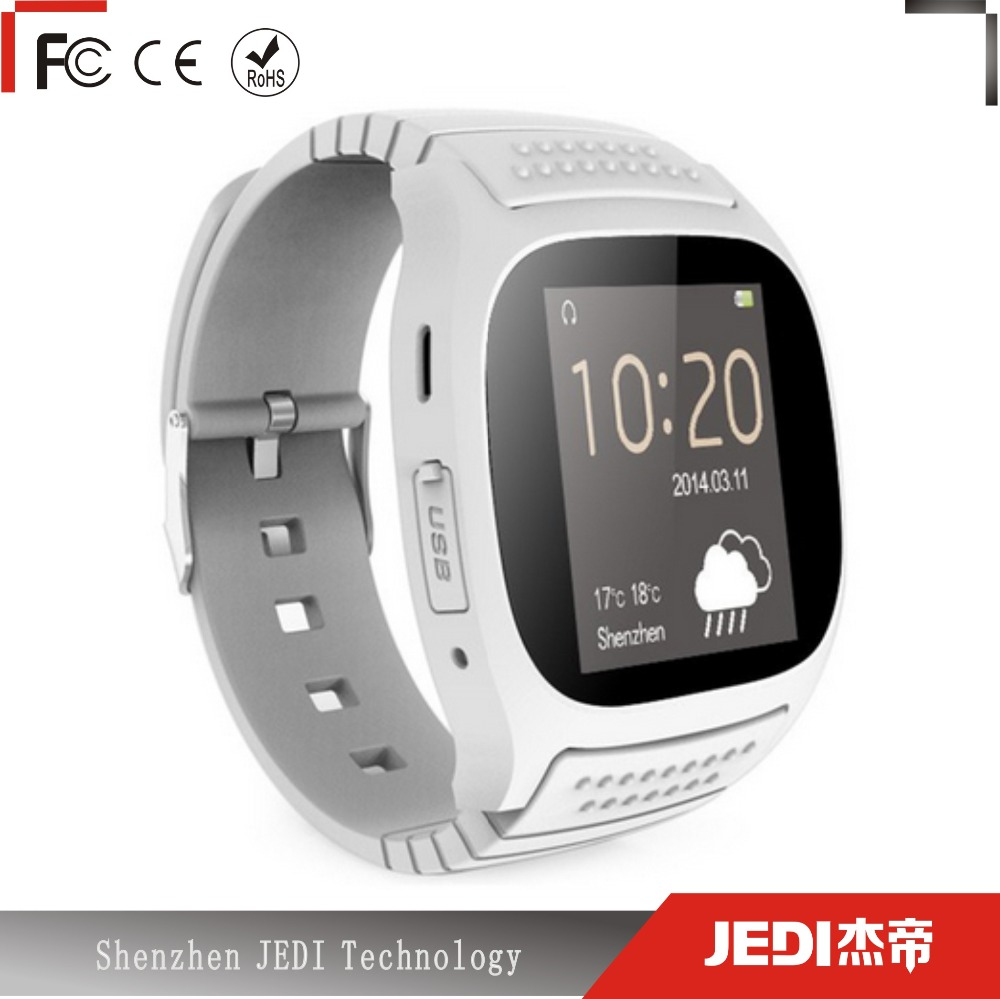 M26 multi-language wholesale distributors digital smart watch bluetooth android with <strong>sim</strong> E111