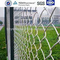 Best price for chain link fence galvanized Diamond wire mesh netting