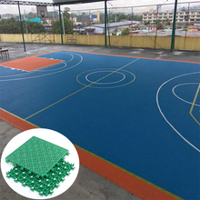 Interlocking Indoor Outdoor Futsal Court Basketball Flooring Tiles