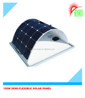 Sunpower cell camping 100 watt flexible solar panel