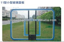 12mm thickness transparent basketball backboard