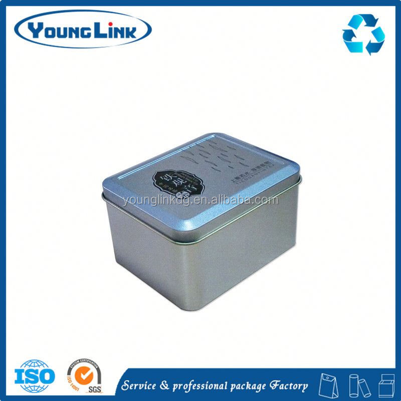 square soap small metal tin boxes