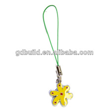 hand made fashion accessories mobile phone chain