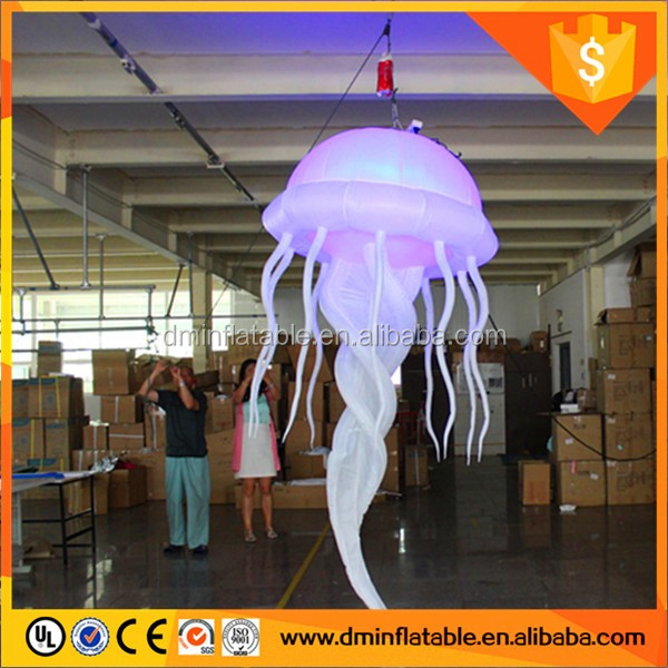 Attractive LED Inflatable Jellyfish XB-41