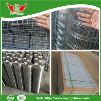 Big Discount! galvanized welded wire mesh manufacturer
