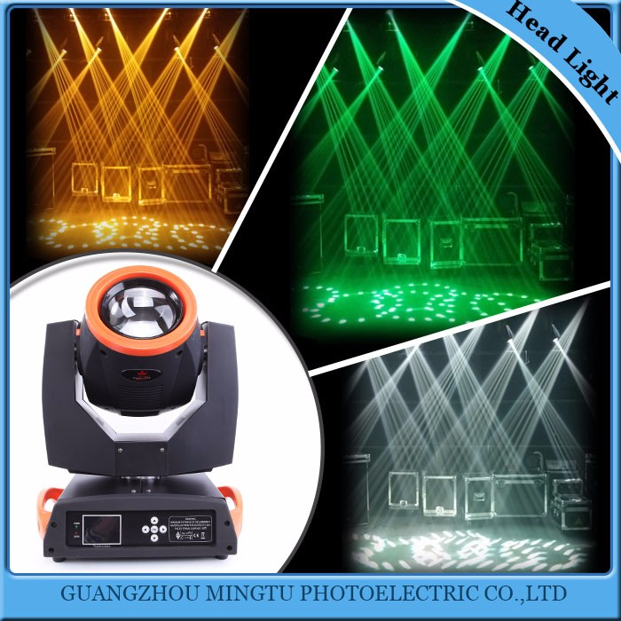 China supplier sharpy 5R beam 200 moving head light stage party light