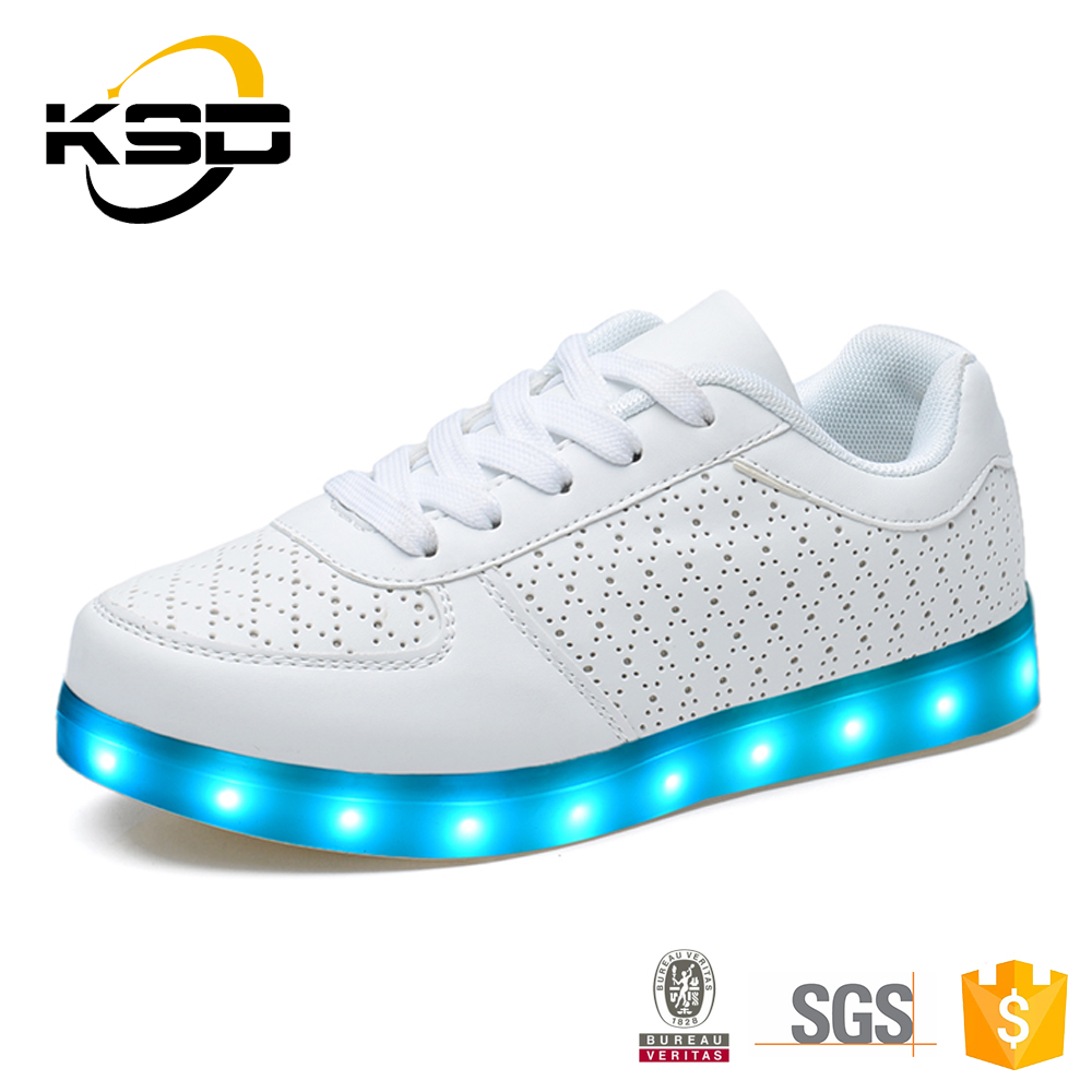 Battery Operated LED Shoes Light Up Shoes Adult Lighting Shoes Led Shoes