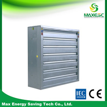 fireproof galvanized sheet exhaust fan for generator exhaust