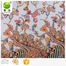 sublimation heat transfer printing paper flowery chiffon fabric