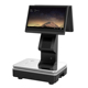 Double Touch Screen 15.6 Inches All in One Touch Pos Scale System Pos Cash Register