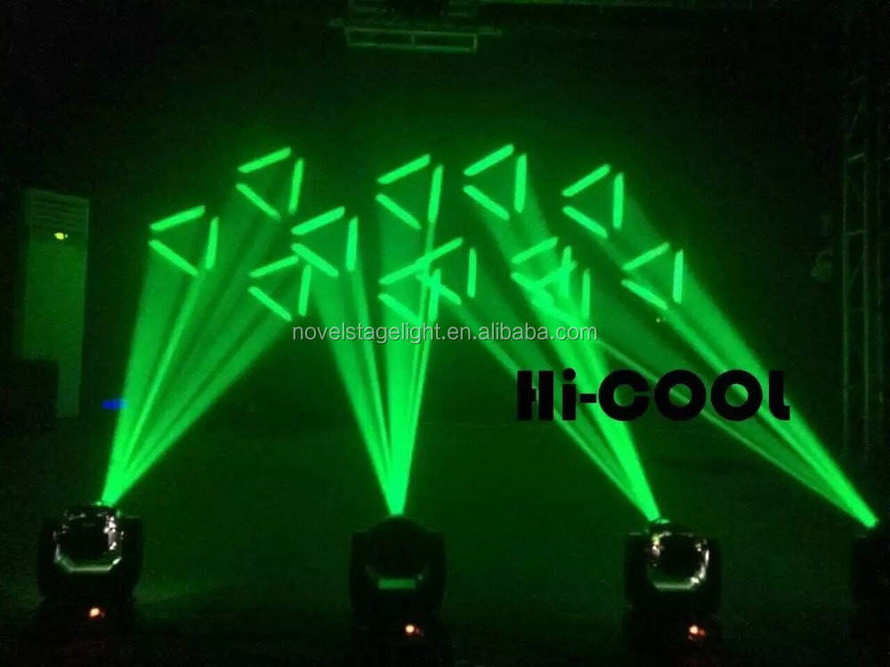 Latest!!! HI-COOL 60W mini led beam moving head light for night club