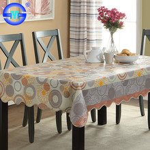 Cold-resistant wholesale custom disposable plastic table cover rolls pvc round table covers wedding