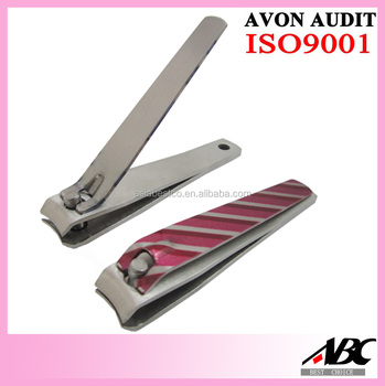 Good Quality Colorful Electrophoresis Stainless Steel Toe Nail Clipper