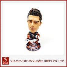 Trade Guarantee Artificial Art Ice Hockey Celebrity Bobble head