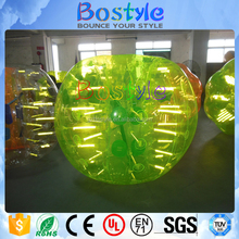 Factory direct sales inflatable LED bubble TPU party knock bumper ball