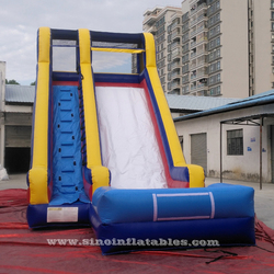 Outdoor commercial use inflatable pool water slide made of lead free pvc tarpaulin for Children parties from Sino Inflatables