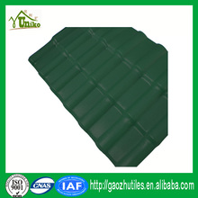 uv-protected extruded pvc plastic corrugated roofing sheet asa synthetic tile roofing