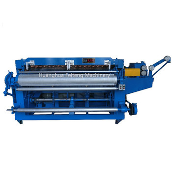 Electric welded wire mesh machine in roll welding machine manufacture