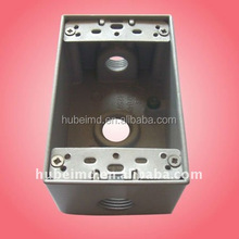 wall mounted junction box with 2 inch depth,Aluminum