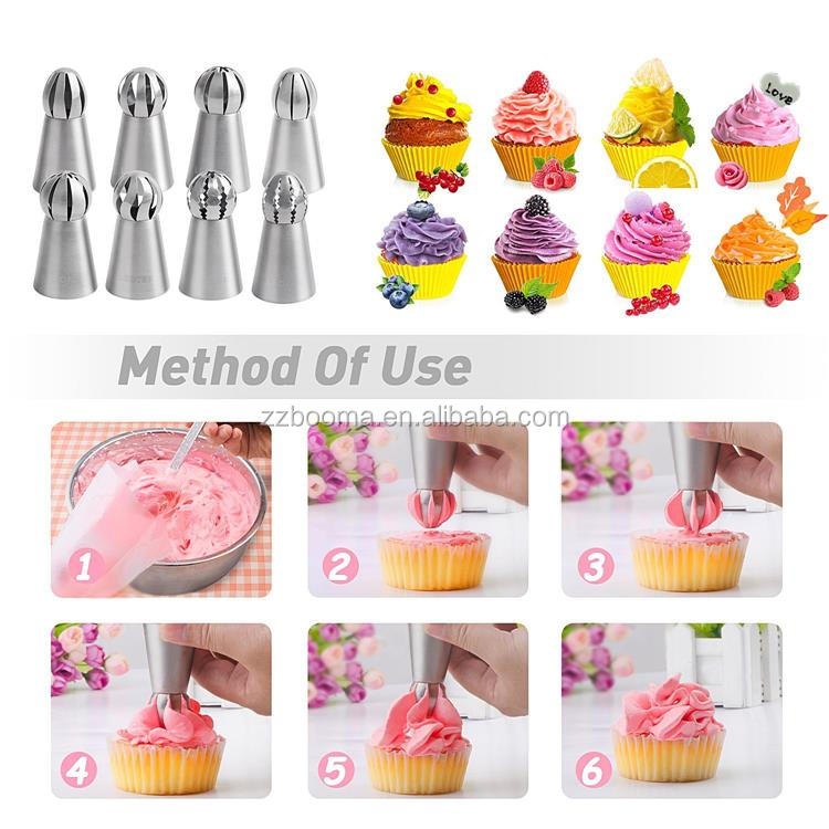 Wholesaler Chinese Supplier Cake Decorating Tools Piping Tips Baking  Accessories Kitchen Ware Nozzles - Buy Baking Accessories Kitchen  Ware,Russian ...