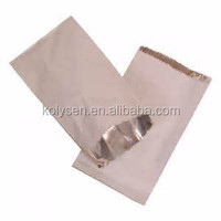 foil lined paper pouch,aluminum paper bag,hot chicken bag
