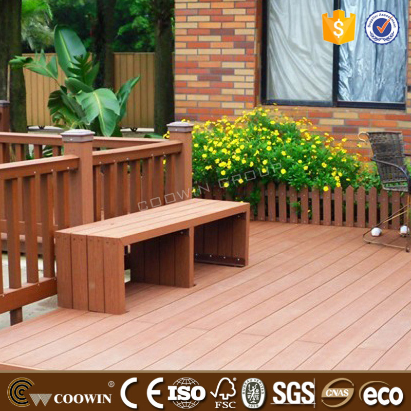 WPC composite wood decking colors