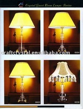 cheap study crystal table lamp