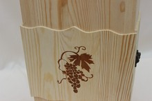 High quality Pine old wooden wine boxes for sale