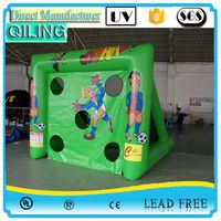 Factory Supply Directly sport toy new kids inflatable football toss game for Comercial