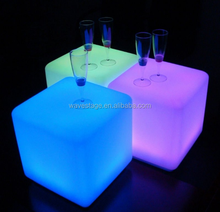 Most popular led sitting cubes led outdoor light cube led cube table