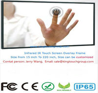 32 inch IR multi touch screen monitor