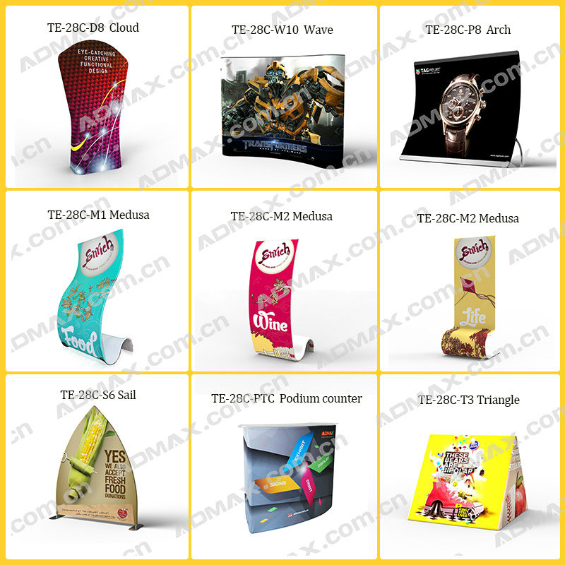 Fabric banner stand tradeshow display