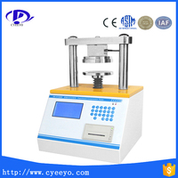 LCD display paper crush tester