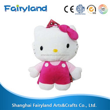 Most wanted products stuffed toy Hello Kitty Plush Backpack Pink shipping from china