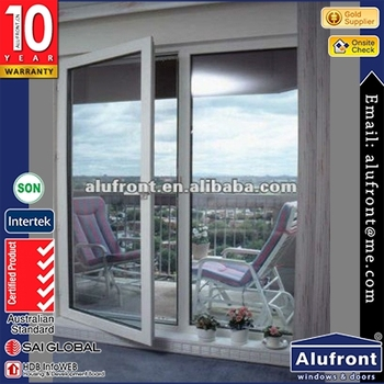 Alufront one-hour Fire rated aluminium doors and windows with Fire proofed laminated glass