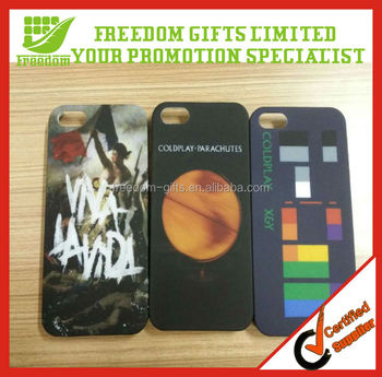 Fashionable Coloful Personalized Promotional Plastic Phone Case