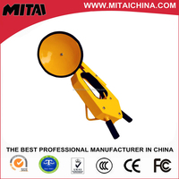 High quality steel yellow&red optional design and reliable wheel clamp